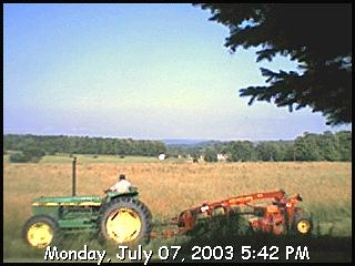 camera image from Charlevoix Michigan